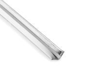 Aluminijumski profil samolepljivi za vitrinu 2077 - mat