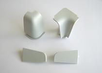 Plastični uglovi i završeci Volpato - aluminijum - duguljasti
