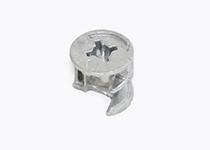 Ekscentar Ø 15 mm - metalni, nikl EC03