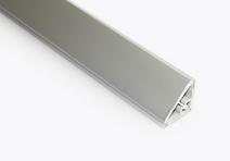 Lajsna PVC trouglasta rebrasta 50/66/400 Volpato-aluminijum